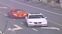 司机吐痰击中宝马遭紧逼狂追 前车逃跑撞死路人